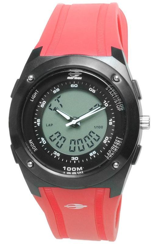 6dac79e4f9a RELÓGIO MORMAII KW7713 8R MASCULINO ANALOGICO DIGITAL - Watch System