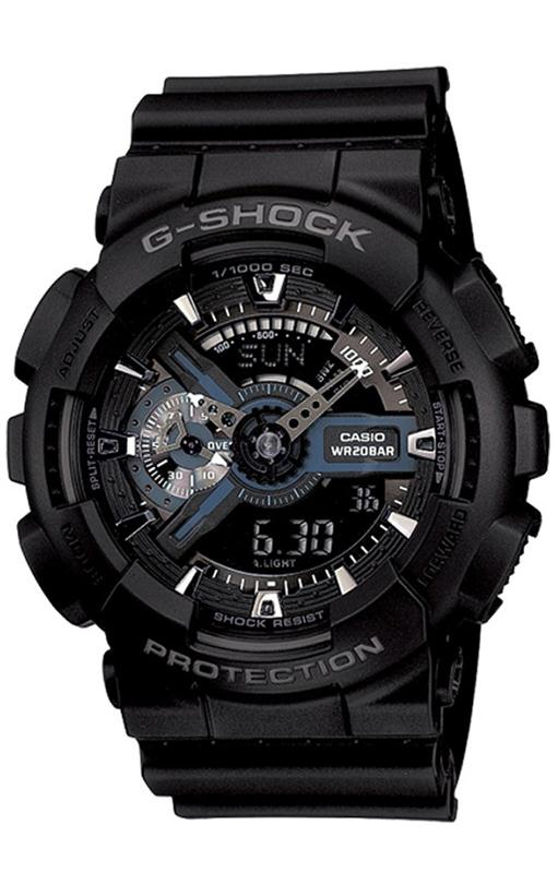 RELOGIO ANALOG_DIGITAL CASIO G-SHOCK - GA-110-1BDR