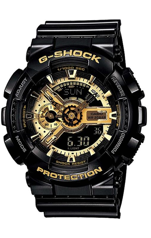 RELOGIO ANALOG_DIGITAL CASIO G-SHOCK - GA-110GB-1ADR