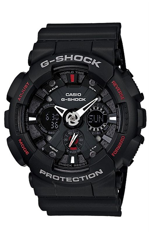 RELOGIO ANALOG_DIGITAL CASIO G-SHOCK - GA-120-1ADR