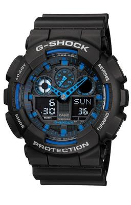 RELOGIO ANALOG/DIGITAL CASIO G-SHOCK - GA-100-1A2DR