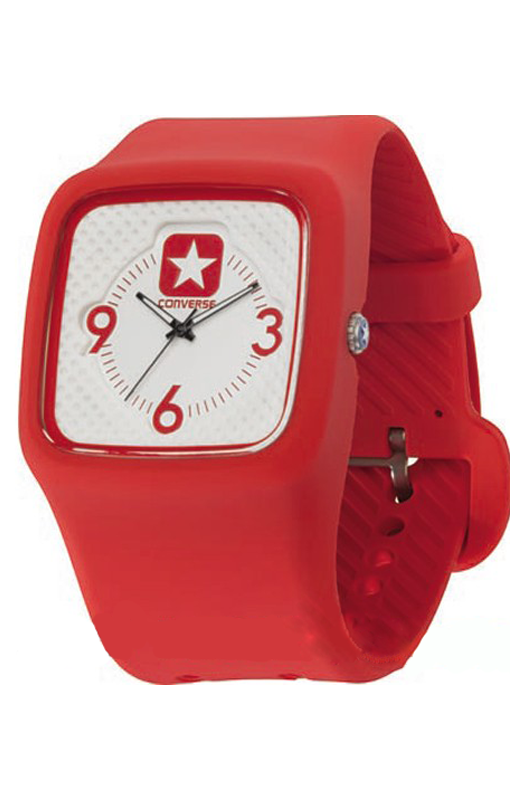 RELOGIO CONVERSE VR030-660 CONVERSE CLOCKED II RED