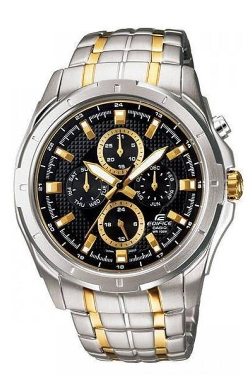 5459220001c RELOGIO ANALOGICO CASIO EDIFICE - EF-328SG-1AVUDF - Watch System