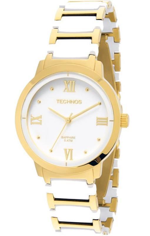 fffa7597cf66a Relogio de pulso feminino TECHNOS 2035LWG 4B Safira - Watch System