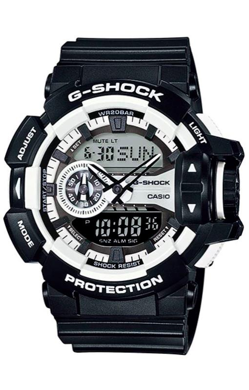 RELOGIO ANALOG/DIGITAL CASIO G-SHOCK - GA-400-1ADR