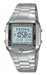 Relogio de pulso masculino CASIO DB-360-1ADF Data Bank