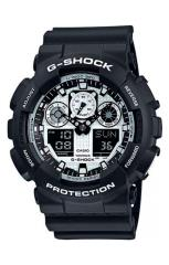 RELOGIO ANALOG/DIGITAL CASIO G-SHOCK - GA-100BW-1ADRAdicional
